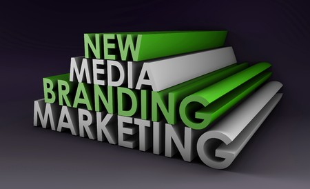 Marketing Brand in the New Media Concept  Stock Photo - 7004183