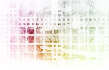 Futuristic Abstract as a Technology Background Art Stock Photo - 7004201