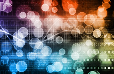 slideshow: Information Technology Data Network as a Abstract