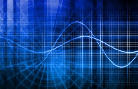 redes electricas: Técnicas datos de análisis, de finanzas y estadística  Foto de archivo