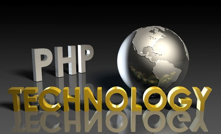 PHP Technology Internet Abstract as a Concept Stock Photo - 7027967