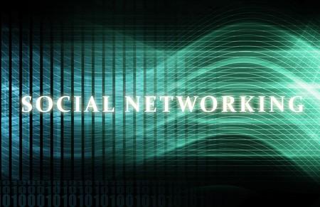 Social Networking Site Online Concept On Internet Archivio Fotografico