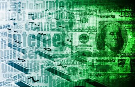 monetization: Make Money Online Concept as a Background