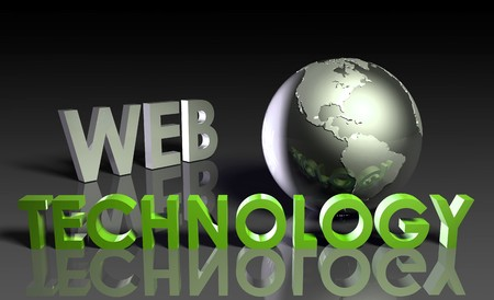 Web Technology Internet Abstract as a Concept