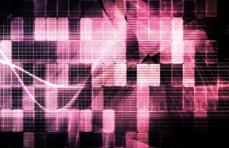Technology Background as a Digital Abstract Art Stock Photo - 7074764