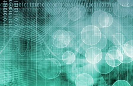 Science Technology Data as a Abstract Art Stock Photo - 7074780