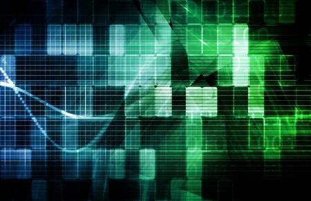 Data Network with Fast Moving Data Packets Stock Photo - 7074754