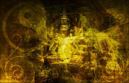 enlightened: Zen Background Abstract Wallpaper as a Art