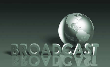 radio station: Global Broadcast Technology as Concept in 3d