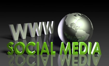 Social Media of Online Content on the Web Stock Photo - 7098176