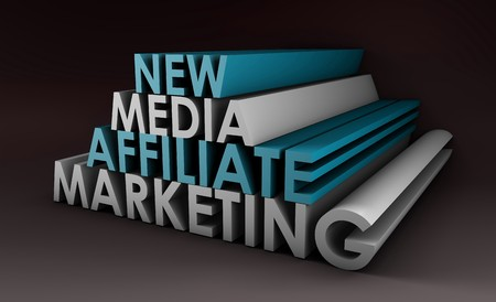 Affiliate Marketing Concept on a Online Referral Stock Photo - 7098185