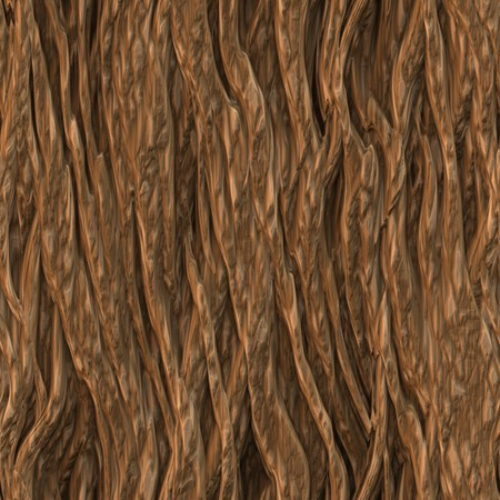 brown cork: Seamless Tree Bark Wood Texture as Tileable Stock Photo