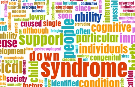 Down Syndrome Condition as a Concept Background photo