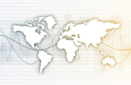 背景の壁紙として世界的なビジネス システムのデータ