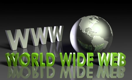 WWW World Wide Web 3d as Concept Stock Photo - 7107141
