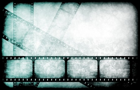 TV Channel Movie Guide on Abstract Background photo