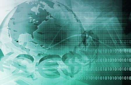 contabilidad: Finanzas de negocio y la contabilidad como un resumen