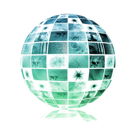 protocols: Dati del sistema di business globale come sfondo sfondo