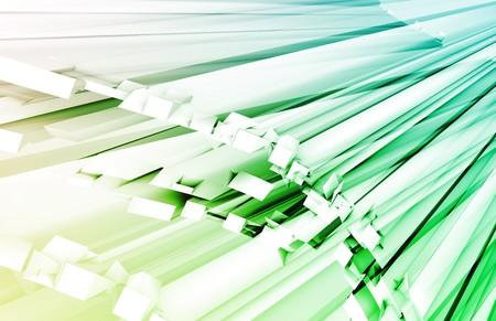 streaking: Blue Green Fiber Optics Technology as Concept