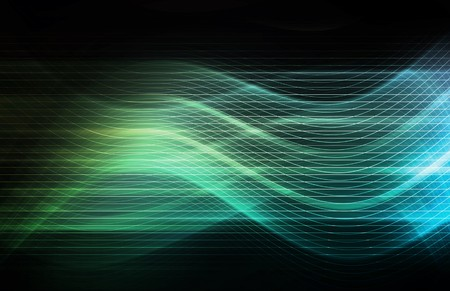 Technology Background as a Digital Abstract Art Stock Photo - 7129990