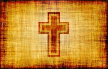 grunge cross: Christian Cross Design Poster della Bibbia come abstract