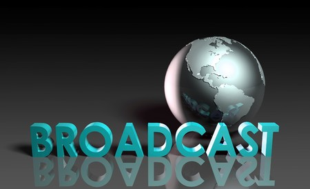 Global Broadcast Technology as Concept in 3d Stock Photo - 7129973