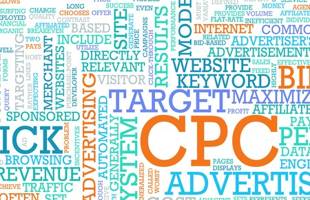 Cost Per Click CPC Advertising as a Concept photo