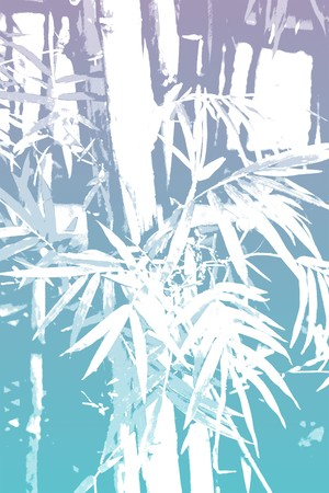 lucky bamboo: Bamboo Asian Abstract Background Wallpaper in Illustration Form Stock Photo