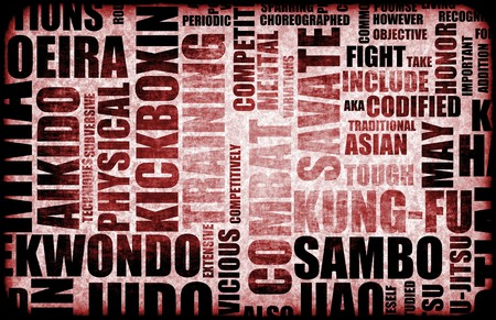 Sambo Martial Arts as a Fighting Style Stock Photo