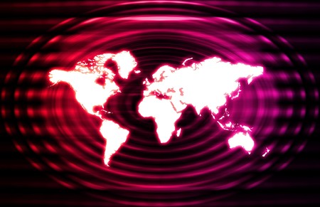 Global World Business Abstract as a Background photo