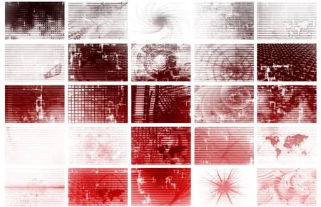 Futuristic Web Cyber Data Grid Color Background Stock Photo - 7162618