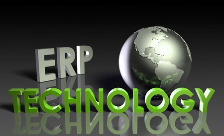 ERP Technology System Abstract as a Concept Stock Photo - 7162486