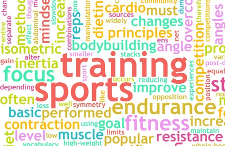 Sports Training Concept as a Workout Fitness