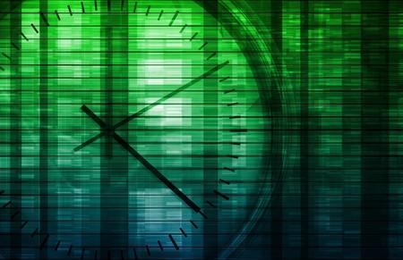Concepto de administración de tiempo como un fondo de Abstract  Foto de archivo - 7162611