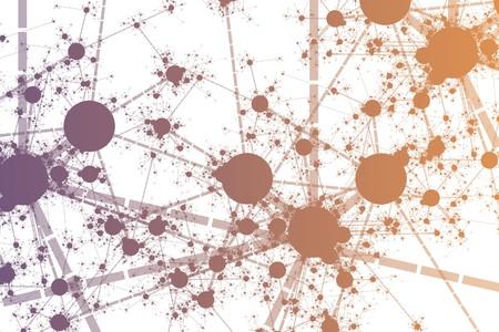 컬러 네트워크 페인트 튄 추상적 인 배경 미술 스톡 콘텐츠 - 7211752