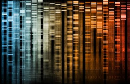 Medische abstract in wetenschap en onderzoek van de biologie