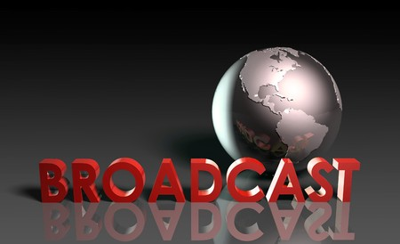 Global Broadcast Technology as Concept in 3d Stock Photo - 7211691