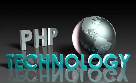 PHP Technology Internet Abstract as a Concept  photo