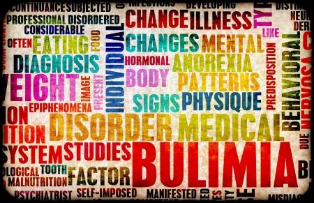wanorde: Boulimie Nervosa Eating Disorder als een concept