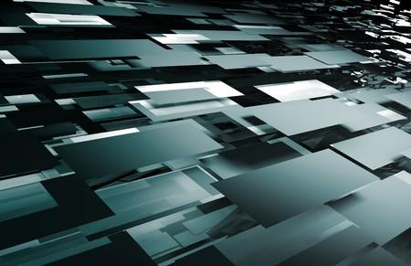 Tech futuristische abstract achtergrond als een kunst