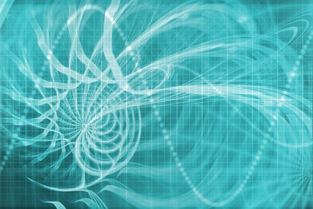 web portal: Alien Portal Abstract Background With Futuristic Data Grid