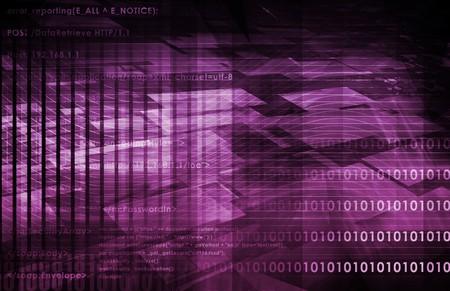 Securi Network Data of the World Background Stock Photo - 7207650