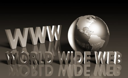 WWW World Wide Web 3d as Concept Stock Photo - 7211714