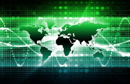 Tech Business Media technologies comme un arrière-plan.  Banque d'images - 7211850