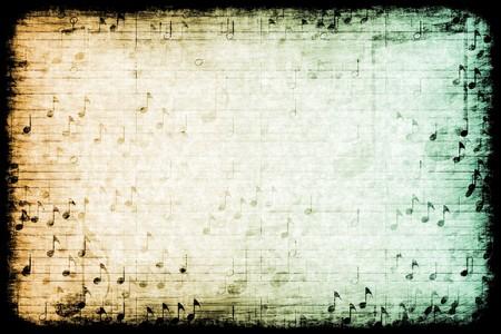 musica clasica: Una textura de fondo de grunge abstracto con temas de m�sica