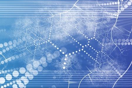기술 산업 네트워크 초록 배경 바탕 화면