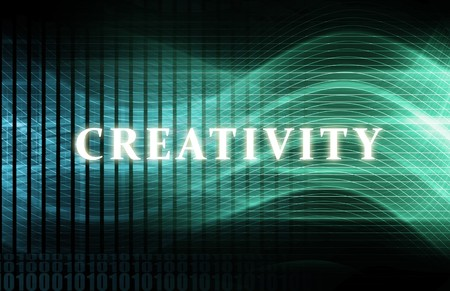 Creativity as a Abstract Background Concept Art Stock Photo - 7211855