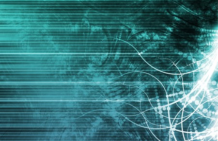 Internet World Wide Web Abstract Tech Background Stock Photo - 7249030