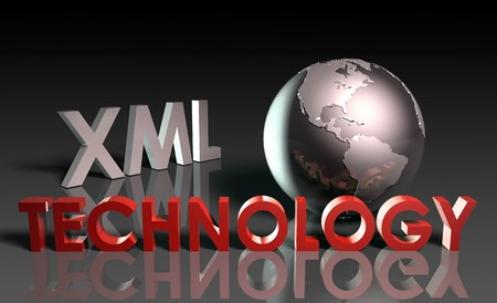 XML Technology Internet Abstract as a Concept  Stock Photo - 7248964