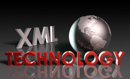 XML Technology Internet Abstract as a Concept  Stock Photo - 7248964